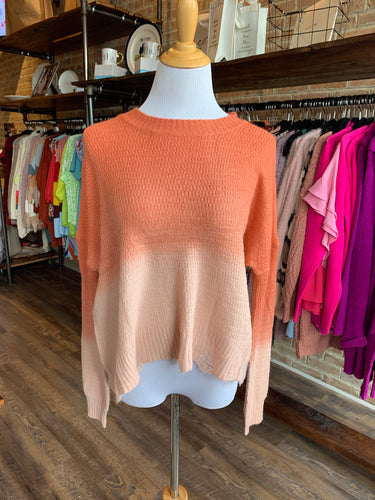 Color Contrast Knit Top