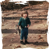Little Ann and her squirrel, ca. 1967