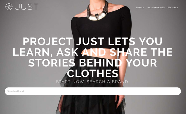 Project JUST - A Wikipedia For Sustainable Fashion