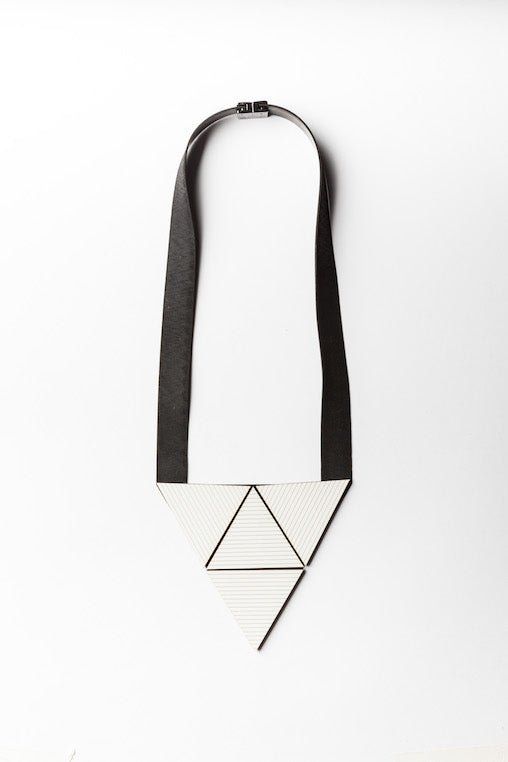 Heloisa Necklace - white