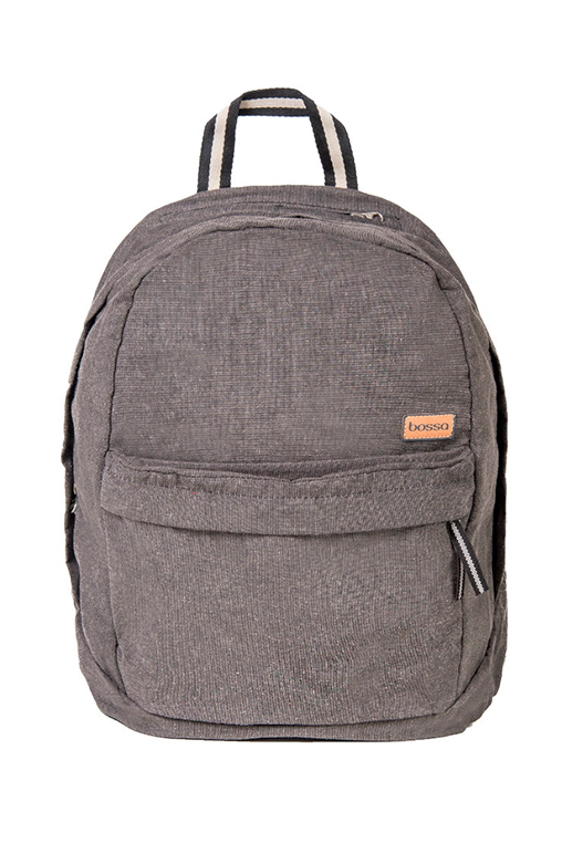 bossa backpack bossapack grey sustainable pet