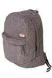 bossa backpack bossapack grey sustainable pet side