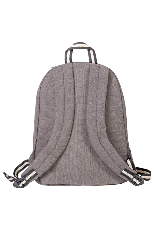 bossa backpack bossapack grey sustainable pet back