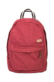 bossa backpack red sustainable pet upcyled bossapack