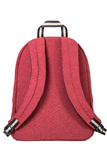 bossa backpack red sustainable pet upcyled bossapack back