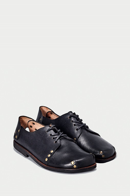 shoe 12 caboclo black leather laces sustainable