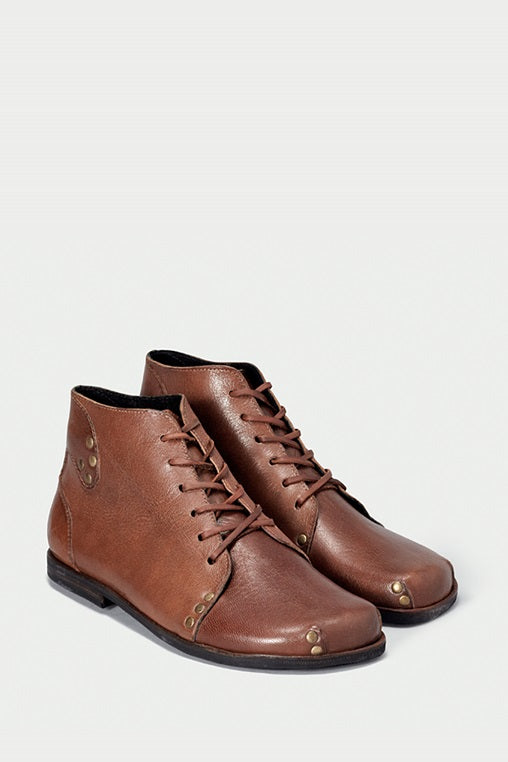 shoe 29 caboclo brown boots leather sustainable