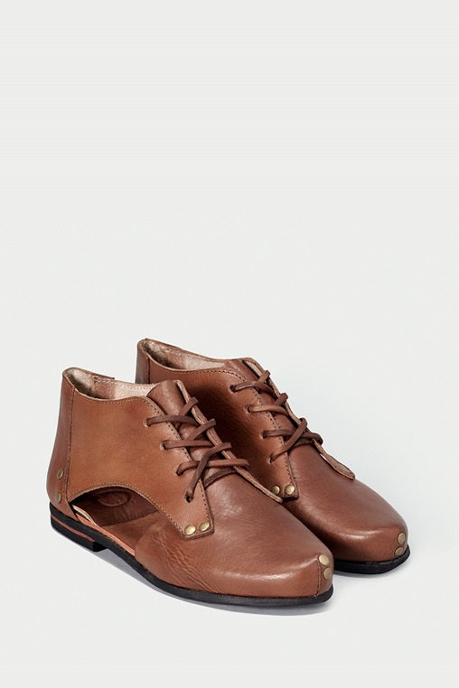 shoe 41 caboclo boots brown leather sustainable