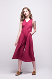 ada_jumpsuit_burgundy_midi_v_neck_cut_ana