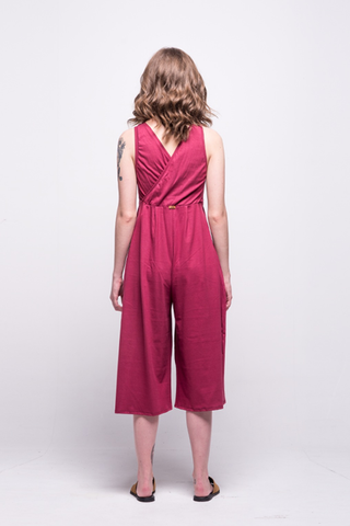 ada_jumpsuit_burgundy_midi_v_neck_cut_ana_back