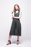 ada_jumpsuit_green_olive_midi_v_neck_cut_ana
