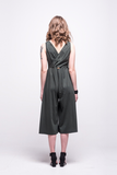 ada_jumpsuit_green_olive_midi_v_neck_cut_ana_back