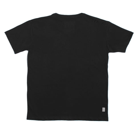 black t shirt mescla basic sustainable back
