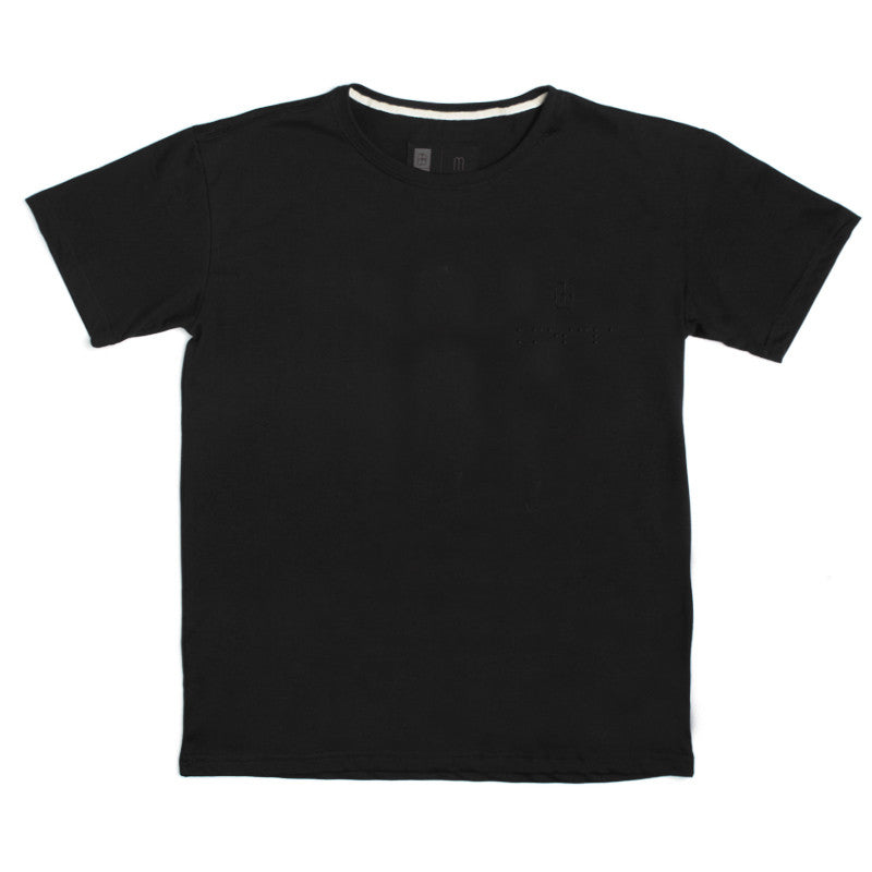 black t shirt mescla basic sustainable