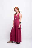 ada_jumpsuit_burgundy_long_v_neck_cut_ana_side