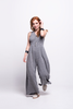ada_jumpsuit_grey_long_v_neck_cut_ana_front