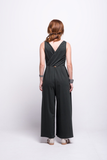 ada_jumpsuit_green_olive_long_v_neck_cut_ana_back