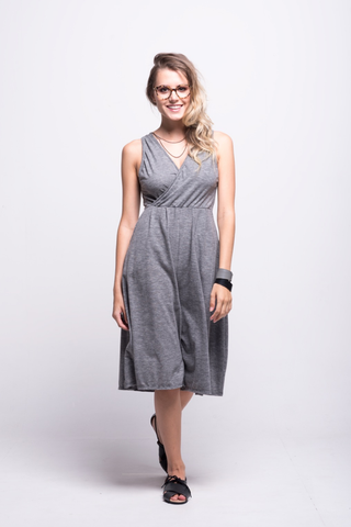 Sofia Jumpsuit Grey