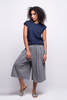 lois culotte pants grey ada sustainable organic cotton