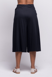 lois culotte pants black ada sustainable organic cotton back
