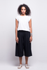 lois culotte pants black ada sustainable organic cotton