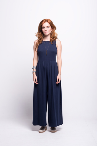 Valentina Jumpsuit Navy Short