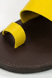 Indy Yellow Sandals