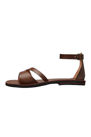 búzios brown sandals caboclo leather side