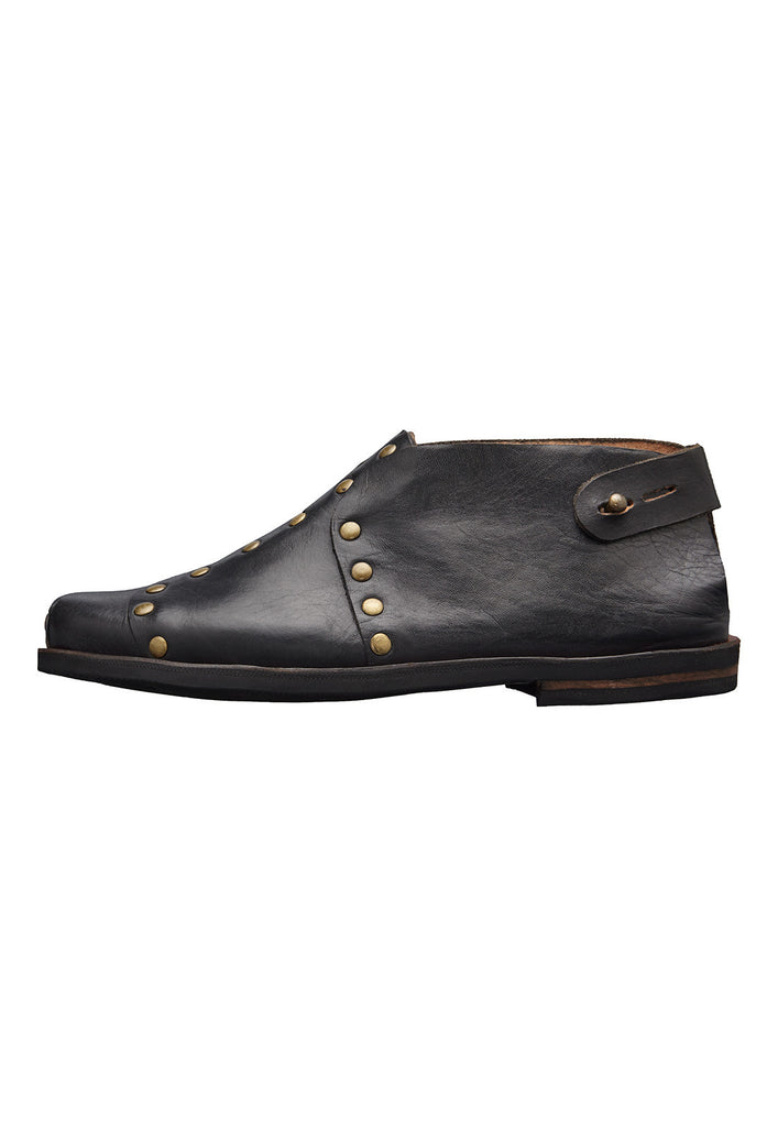 rock shoes caboclo black leather sustainable side