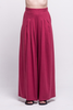 lois long pants burgundy ada sustainable organic cotton front