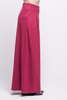 lois long pants burgundy ada sustainable organic cotton side