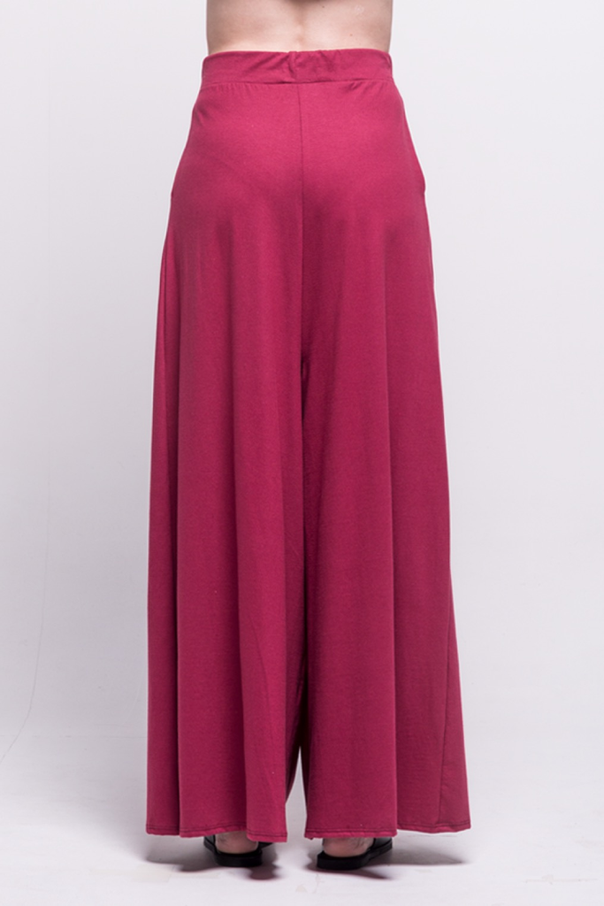 lois long pants burgundy ada sustainable organic cotton back