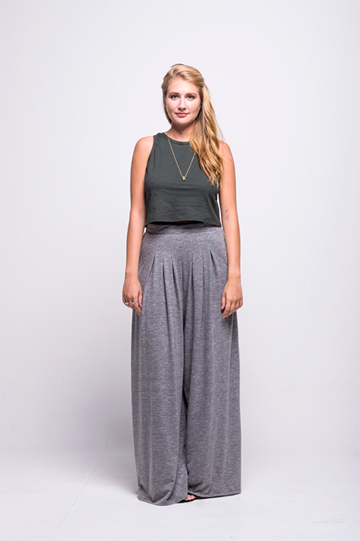 lois long pants grey ada sustainable organic cotton