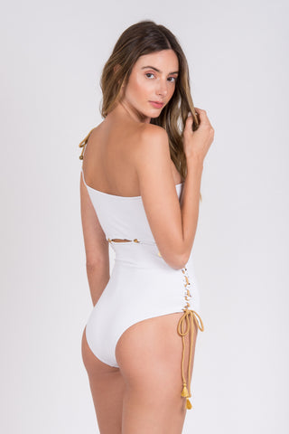 Julia Bathing Suit White Agatha