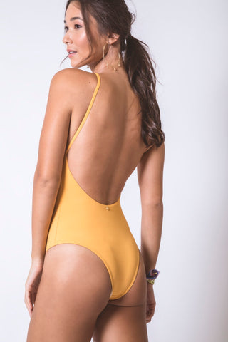 Ocher Bathing Suit