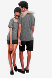 t shirt cycle grey movin cotton recycled sustainable couple