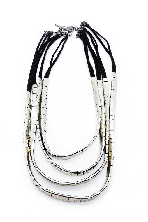 chapinhas necklace silver zoia sustainable