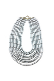 Plastic Tubes Necklace
