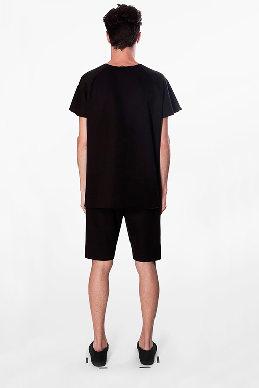 t shirt atlas black movin cotton recycled sustainable back
