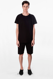 t shirt atlas black movin cotton recycled sustainable