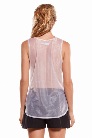 cut back t shirt white envido sleeveless back transparent