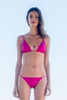 re bikini Penelope pink marju beachwear biodegradable fabric