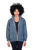 blue mollie jacket shwe sustainable pattenerd cotton front