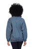 blue mollie jacket shwe sustainable pattenerd cotton back