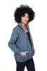 blue mollie jacket shwe sustainable pattenerd cotton