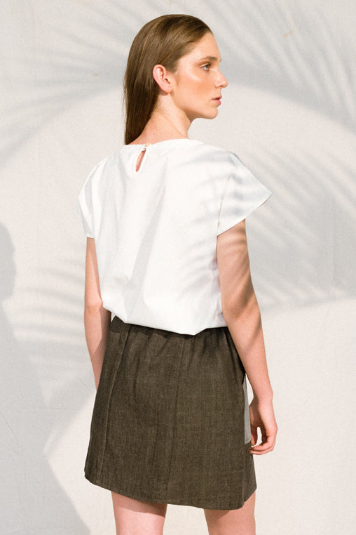 Made In Japan White Blouse