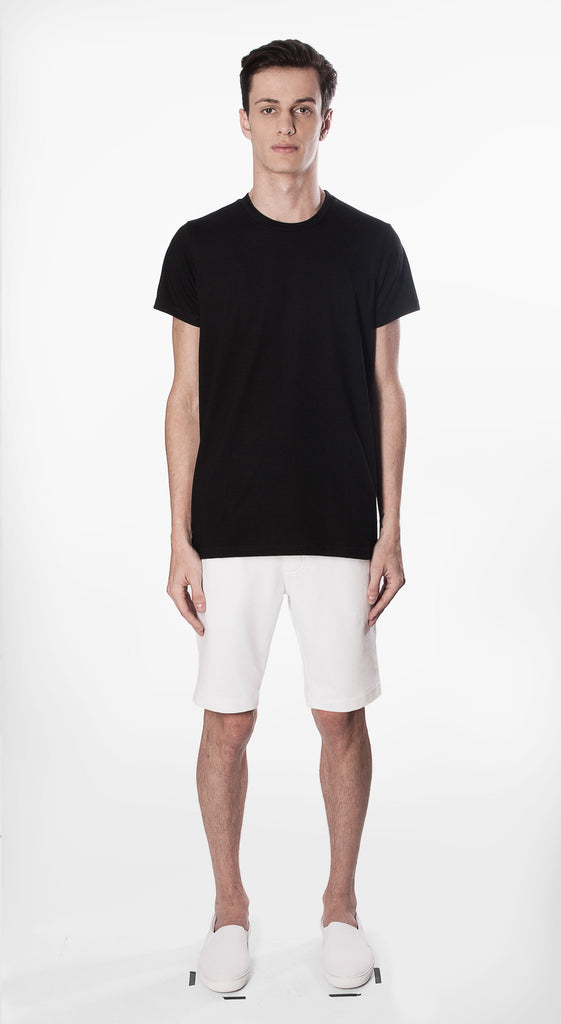 t shirt basic fit black movin cotton recycled sustainable