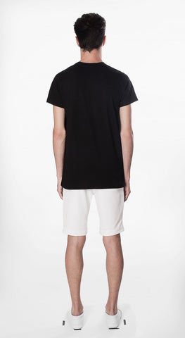t shirt basic fit black movin cotton recycled sustainable back