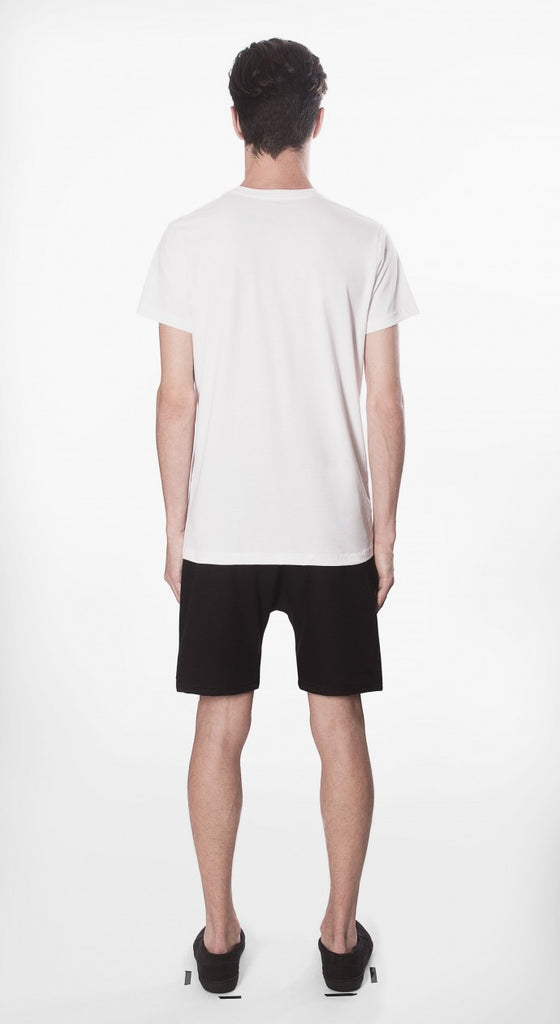 t shirt basic white fit cotton organic ecological movin sustainable back