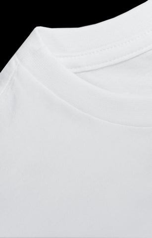 t shirt basic white fit cotton organic ecological movin sustainable detail